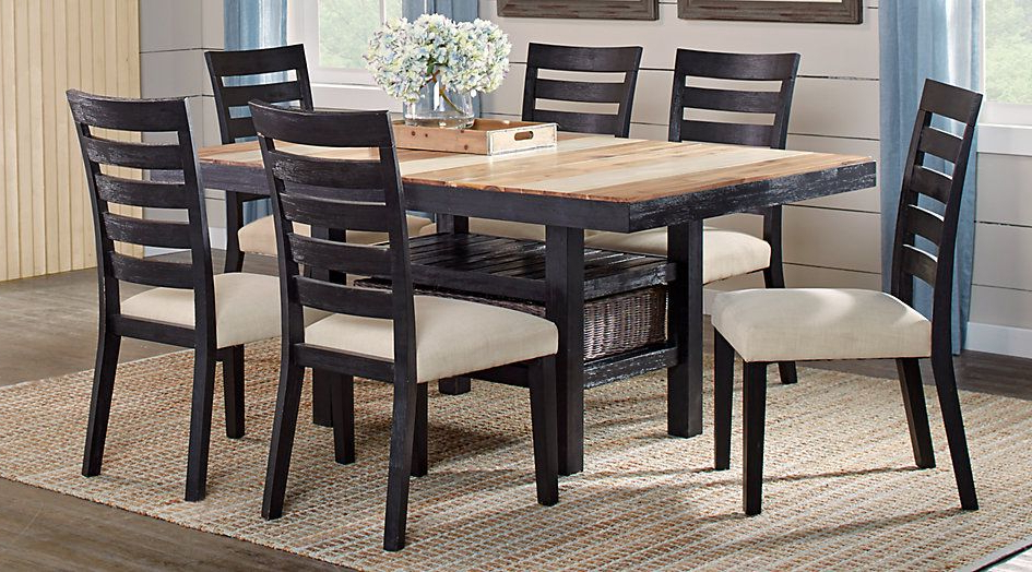 For The Inside Crawford 7 Piece Rectangle Dining Sets (View 14 of 20)