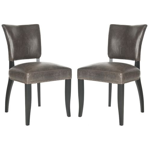 Found It At Joss & Main Marcia Side Chair Brown Parsons Chairs In Favorite Joss Side Chairs (View 5 of 20)