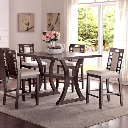 Found It At Wayfair – Alison 5 Piece Counter Height Dining Set (View 5 of 20)