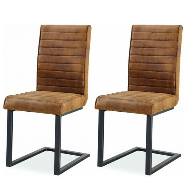 Free Delivery With Recent Oak Leather Dining Chairs (Gallery 7 of 20)