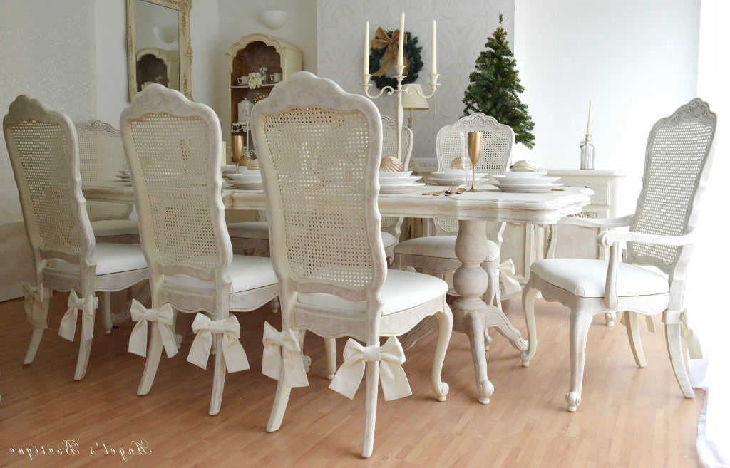 French Chic Dining Tables In Favorite Wow !!! Sale !!! *** Unique & Beautiful *** French Antique Shabby (View 12 of 20)