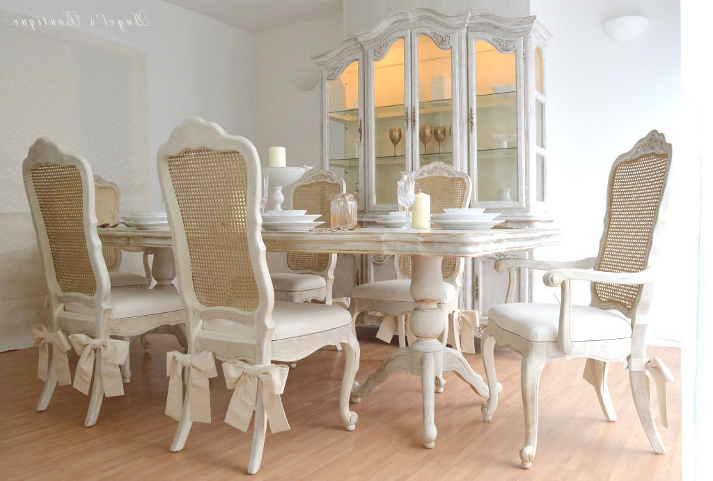 French Chic Dining Tables Intended For Well Known Perfect For Christmas ** Unique & Beautiful ** French Shabby Chic (View 7 of 20)