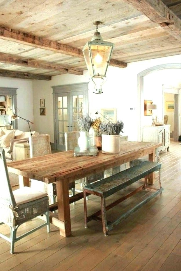 French Country Dining Room French Country Dining Room Best Country Regarding Trendy Country Dining Tables (View 3 of 20)