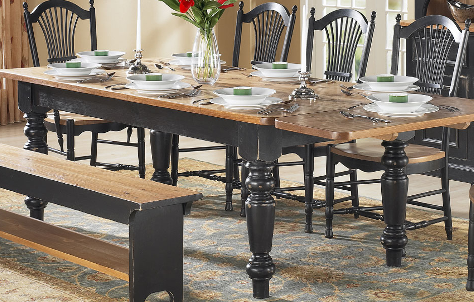 French Country Dining Room Furniture (View 7 of 20)