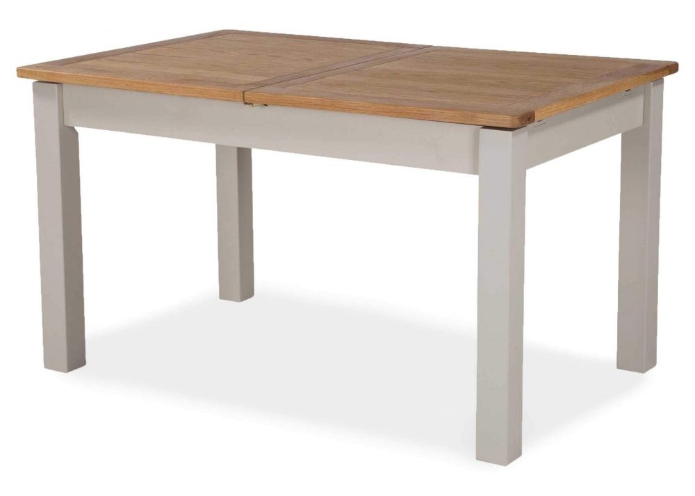 French Country Two Tone Extending Dining Table – Kinsale – Ez Living Inside Latest French Extending Dining Tables (View 10 of 20)