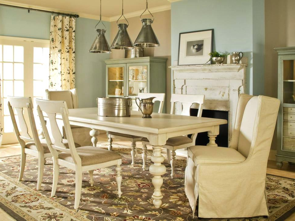 French Dining Room – Vouloir Intended For Famous French Country Dining Tables (View 10 of 20)