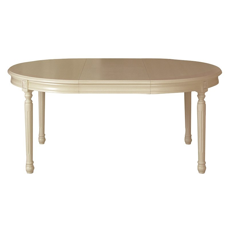 French Extending Dining Tables With Regard To Famous Portofino Light Grey French Extending Dining Table (View 3 of 20)