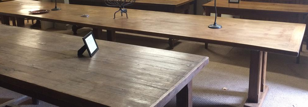 French Farmhouse Dining Tables With Regard To Preferred French Farmhouse Tables, Maple Dining Table, Elm Antique Refectory Table (View 14 of 20)