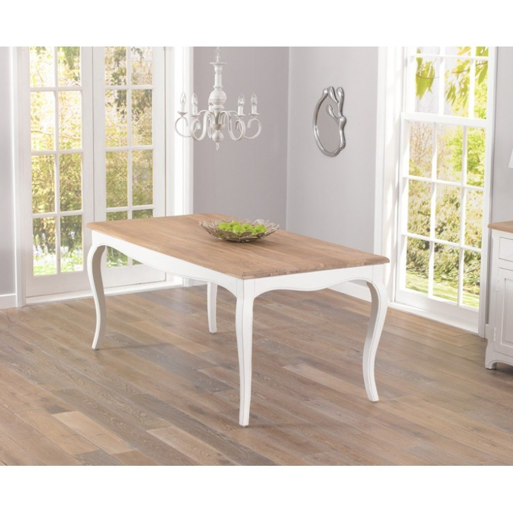 From Oak Furniture House Intended For Ivory Painted Dining Tables (View 4 of 20)