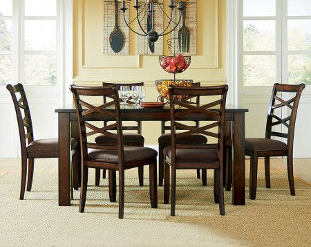 Featured Photo of Market 7 Piece Dining Sets With Side Chairs