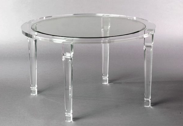 Featured Photo of Round Acrylic Dining Tables