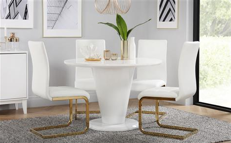 Furniture Choice Regarding Well Known Modern Dining Table And Chairs (View 3 of 20)