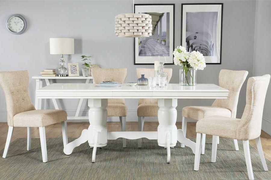 Furniture Choice Throughout Most Current White Dining Suites (Gallery 3 of 20)