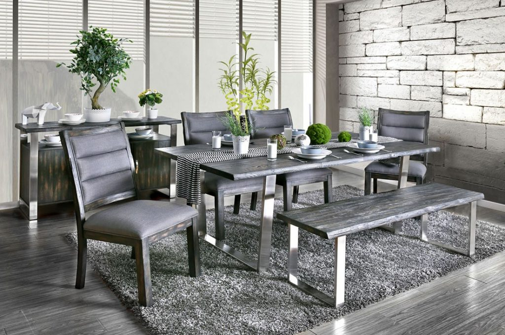 Furniture Grey Dining – Bettercuisine Intended For Recent Dining Tables Grey Chairs (Gallery 12 of 20)