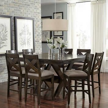 Furniture In 2018 Inside Jaxon 5 Piece Extension Counter Sets With Wood Stools (View 7 of 20)