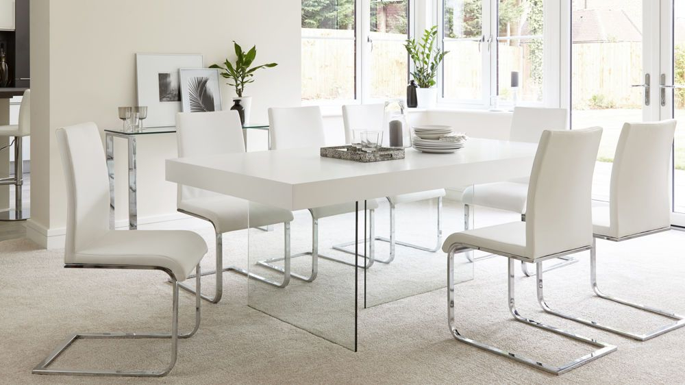 Furniture Regarding Favorite Oak And Glass Dining Tables And Chairs (View 5 of 20)