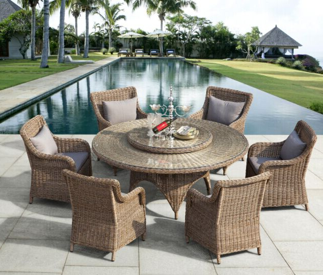 Garden Dining Furniture, Outdoor Dining Furniture, Patio Dining Intended For 2018 Rattan Dining Tables (View 6 of 20)