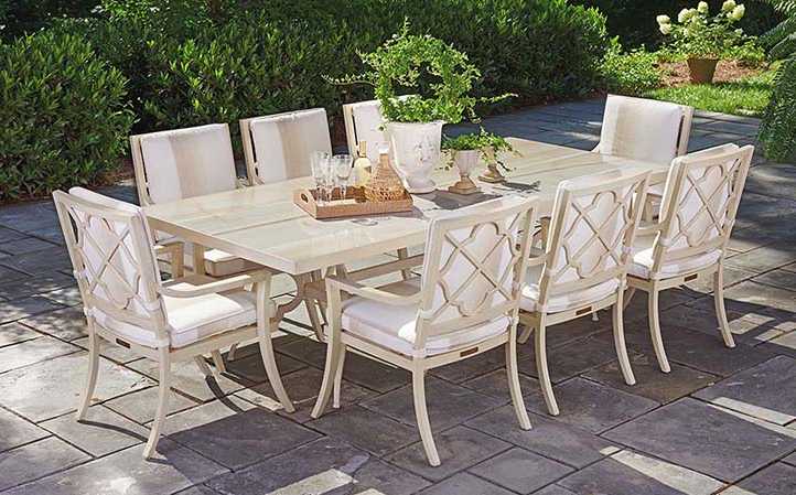 Garden Dining Tables Pertaining To Most Recent Misty Garden Furniture (View 8 of 20)