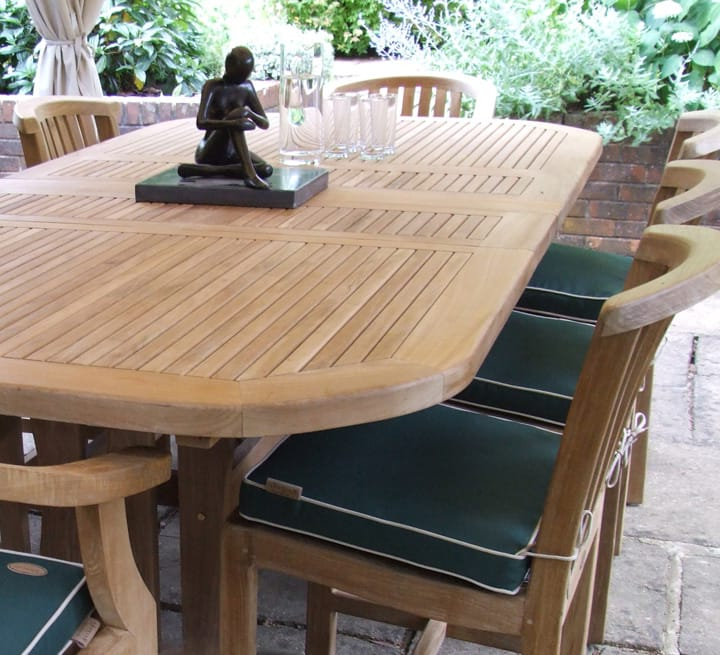 Garden Dining Tables Within Best And Newest Teak Furniture & Teak Garden Furniture In London & Nationwide (View 11 of 20)