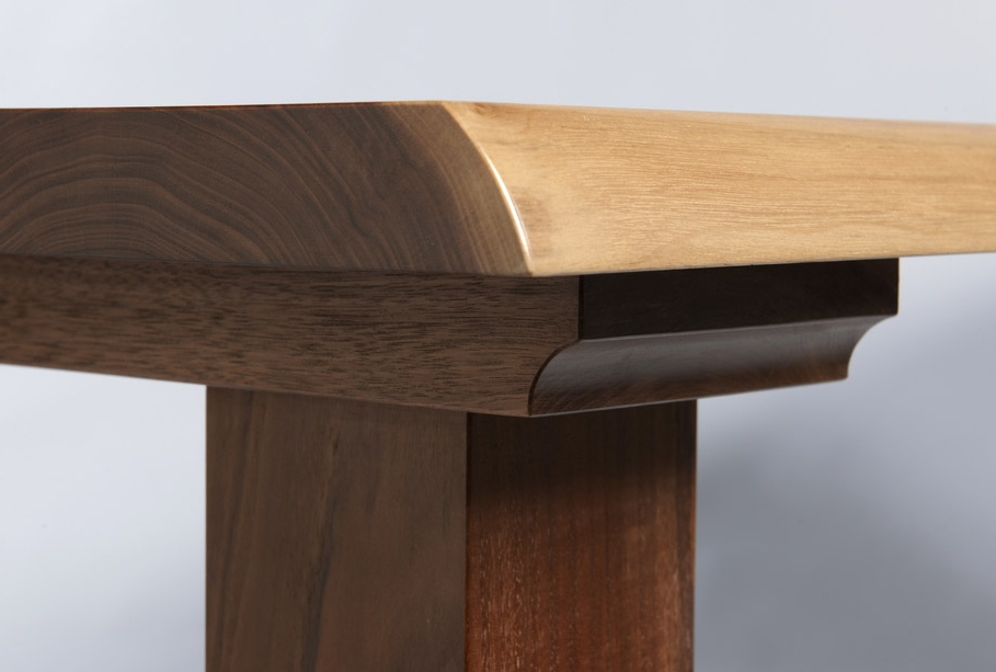 """Gavin Dining Tables Within Well Liked Dining Table """"Wayne Edge Walnut – Gavin Robertson Furniture (View 11 of 20)"""