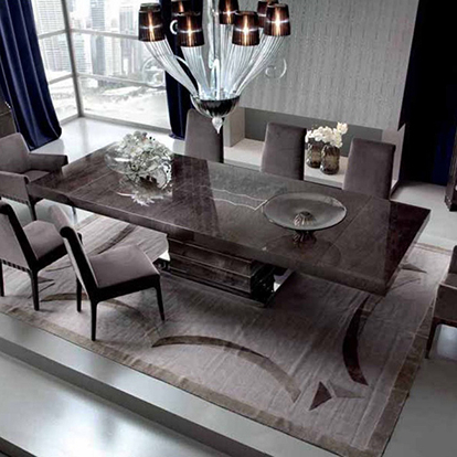 Giorgio Collection Absolute Extending Rectangular Dining Table Throughout Widely Used Extending Rectangular Dining Tables (Gallery 6 of 20)