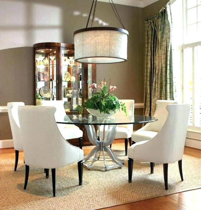Glass Dining Room Tables And Chairs – Kuchniauani With Regard To 2018 Glass Dining Tables And Chairs (View 10 of 20)