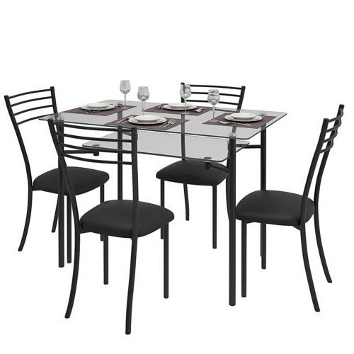 Glass Dining Table At Rs 10000 /unit (View 6 of 20)