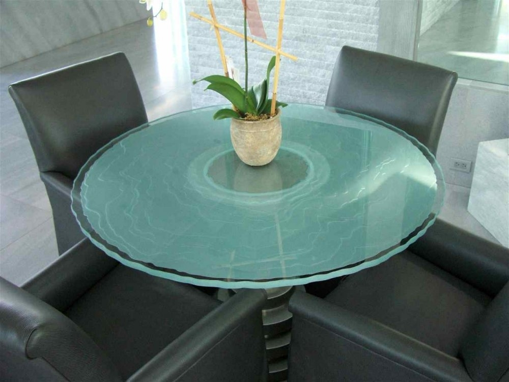Glass Dining Table – Sans Soucie Art Glass Regarding Most Current Blue Glass Dining Tables (View 18 of 20)
