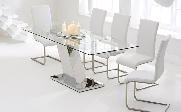 Glass Dining Table Sets (View 6 of 20)