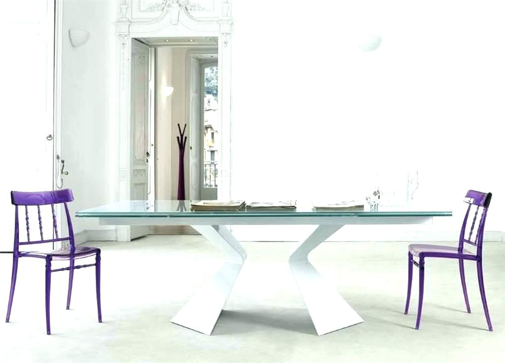 Glass Folding Dining Tables Intended For Preferred Extending Glass Dining Tables – Kuchniauani (Gallery 18 of 20)