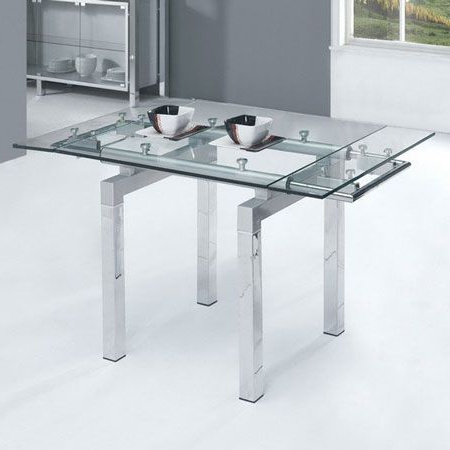 Glass Folding Dining Tables Intended For Well Known Pinalice Billing On Living Rooms In  (View 9 of 20)
