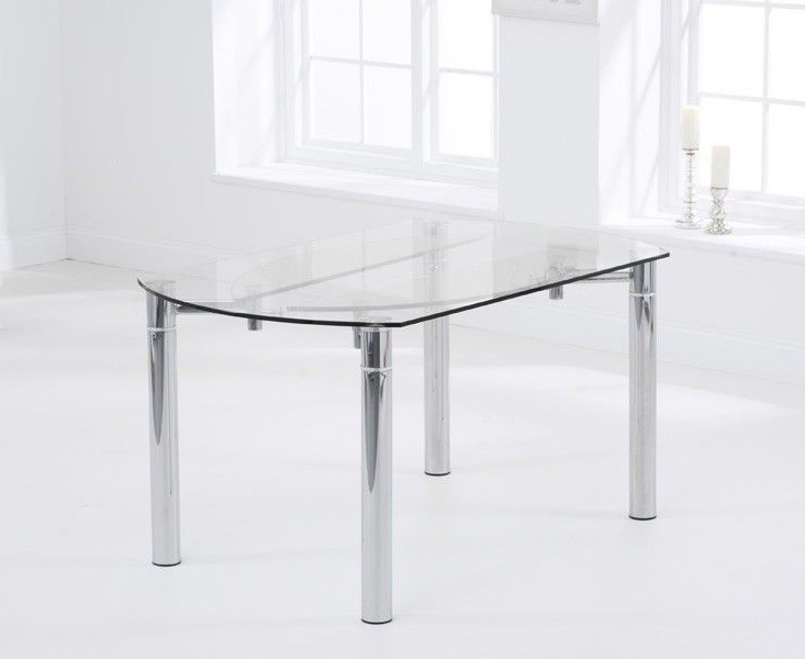 Glass Round Extending Dining Table (View 7 of 20)