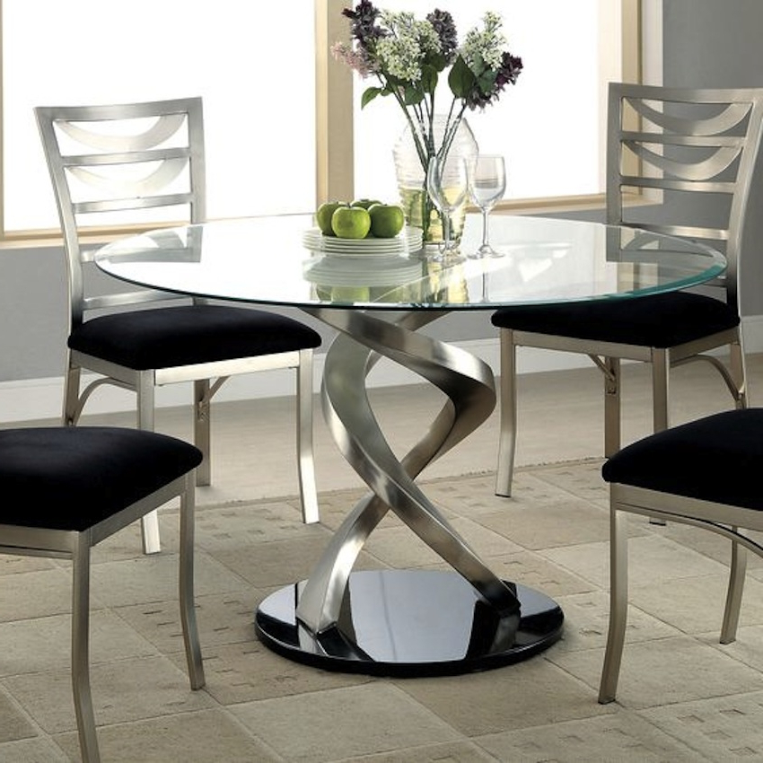Glasses Dining Tables In Most Current Amazing Modern Glass Dining Tables (View 17 of 20)