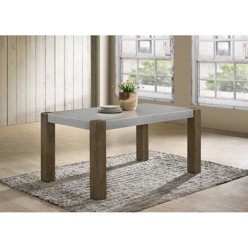 Gracie Oaks Colmont Butterfly Leaf Dining Table (Gallery 7 of 20)