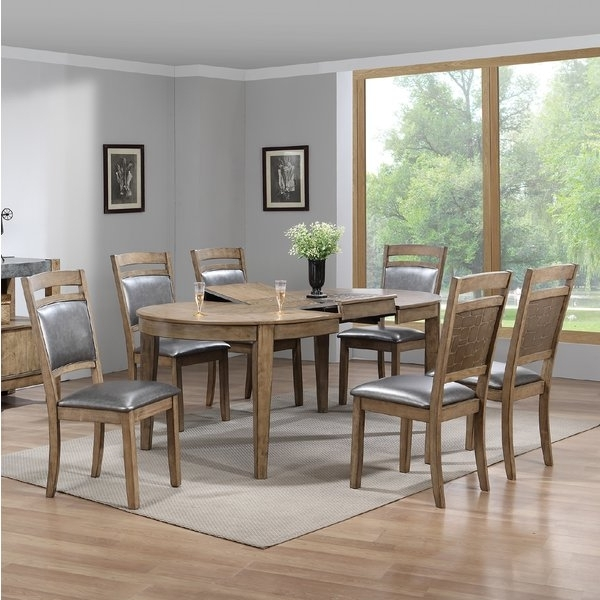Gracie Oaks Warthen 7 Piece Dining Set (View 10 of 20)