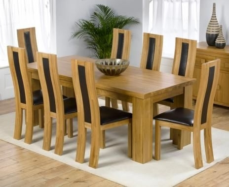 Great 8 Seater Dining Table (View 7 of 20)