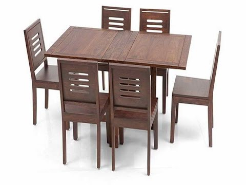 Great Ideas For Collapsible Dining Table – Youtube Inside 2017 Wood Folding Dining Tables (View 2 of 20)