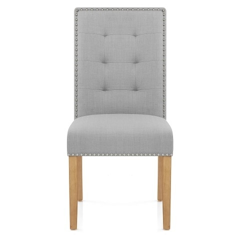 Grey Dining Chairs Regarding 2018 Arlington Dining Chair Grey Fabric – Atlantic Shopping (View 11 of 20)