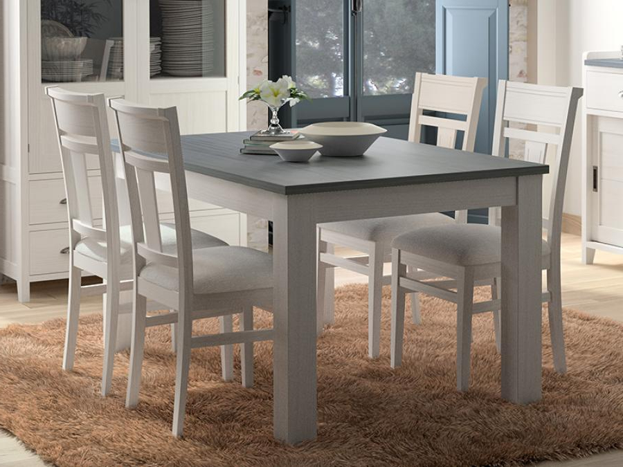 Grupo Seys Modern Solid Wood Dining Table (View 18 of 20)