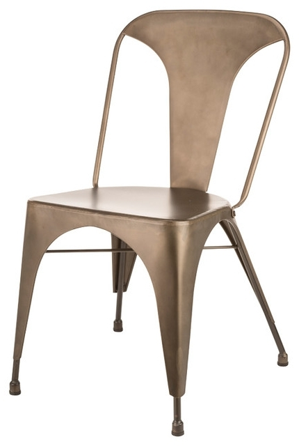 Gunner Dining Chairs, Set Of 2 – Industrial – Dining Chairs – Throughout Recent Gunner Side Chairs (View 4 of 20)