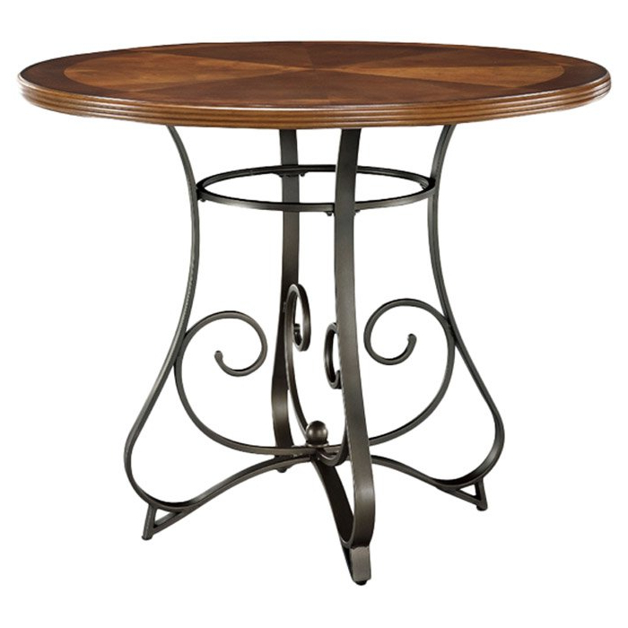 Hamilton Dining Tables Throughout Most Recent Powell Hamilton Counter Height Dining Table & Reviews (View 8 of 20)