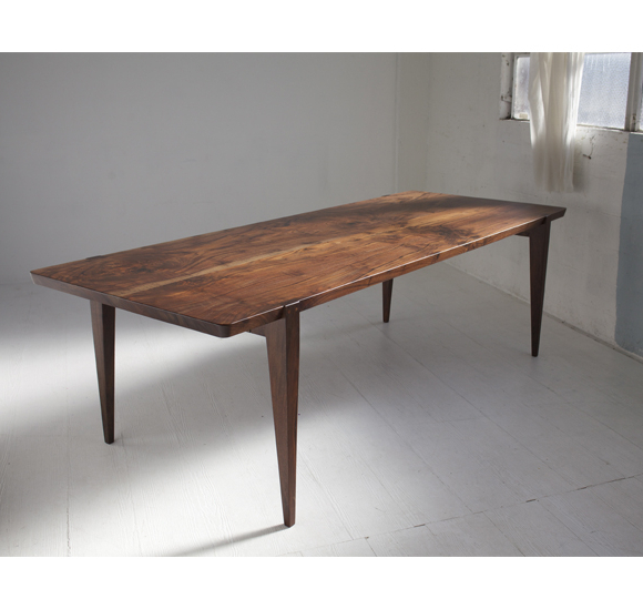 Handcrafted Regarding Newest Walnut Dining Tables (View 9 of 20)