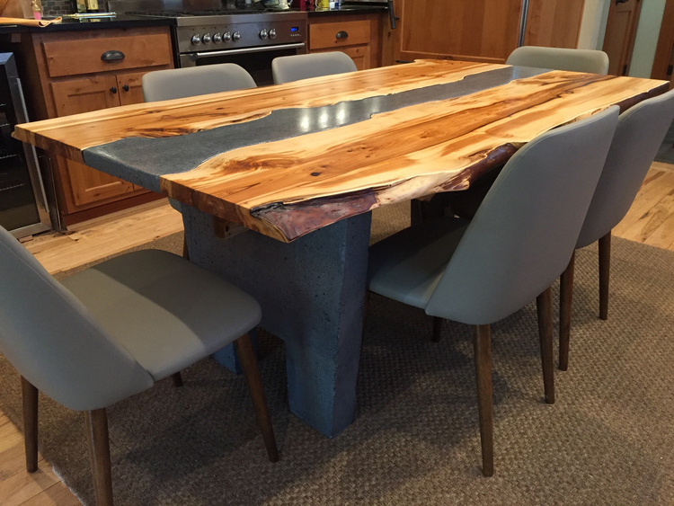Handcrafted Wood Furniture Seattle Wa Solid Wood Dining For Recent Solid Oak Dining Tables (View 9 of 20)