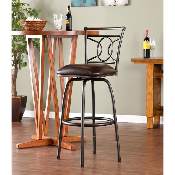 Harper 5 Piece Counter Sets With 2018 Harper Blvd Lyndon Adjustable Swivel Counter/ Bar Stool – Free (View 8 of 20)