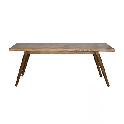 Hart Dining Table – Large/iron & Mango Wood/light Honey Finish/72*38 With Well Liked Mango Wood/iron Dining Tables (View 14 of 20)
