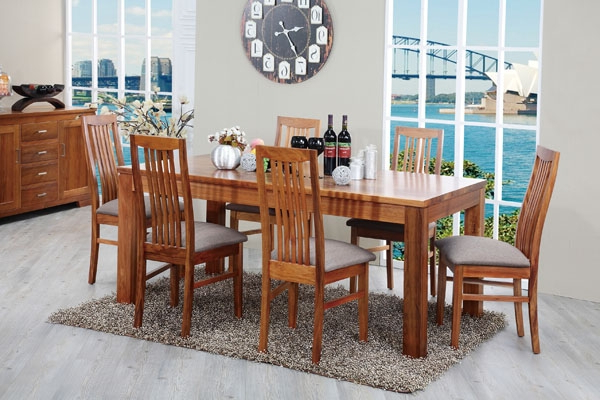 Havana Dining Table & Dining Chair « Urban Furniture Superstore Regarding Preferred Havana Dining Tables (View 8 of 20)