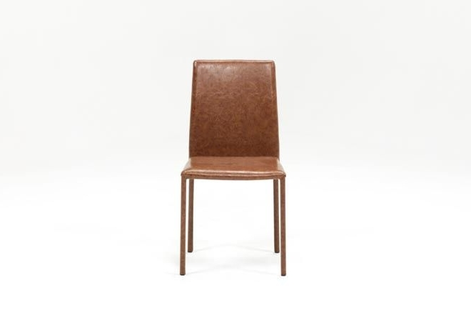 Featured Photo of Hayden Cognac Side Chairs