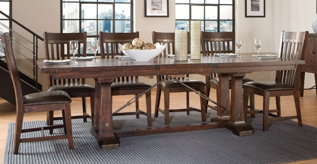 Hayden Dining Tables Pertaining To Most Popular Hayden Trestle Dining Tabe (View 10 of 20)