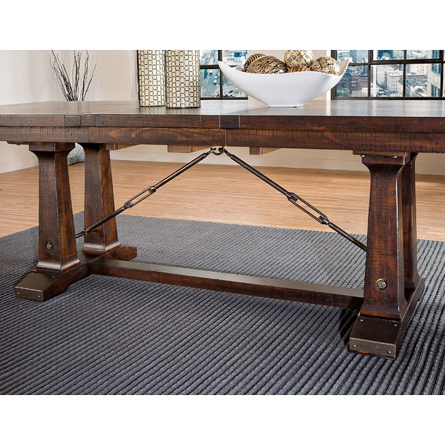 Hayden Dining Tables With Most Current Hayden Trestle Dining Table Intercon Furniture, 4 Reviews (View 13 of 20)