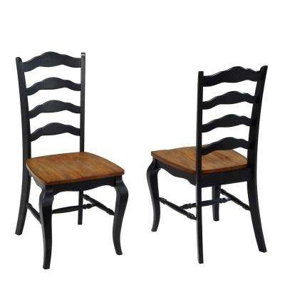Hayden Ii Black Side Chairs Inside Current Dining Chairs – Kitchen & Dining Room Furniture – The Home Depot (Gallery 13 of 20)